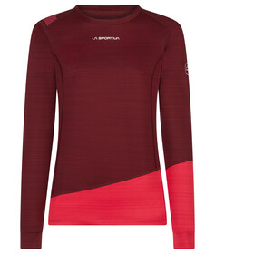 La Sportiva Dash Long Sleeve Shirt Dame wine/orchid